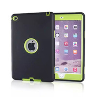 china drop shipping - 2015 Shockproof Heavy Duty PC SILICONE Case Cover For Apple iPad mini case Quick Fast