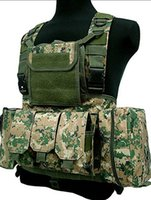 airsoft harness - Fall SXM RRVChest Harness Tactical Vest Military Equipment Airsoft Paintball Vest Tactical Accessories Combat Molle System