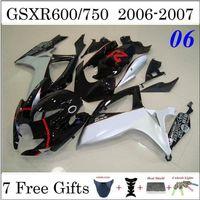aftermarket gsxr fairings - GSXR600 GSXR750 GSXR Fairings Fit Suzuki Motorcycle Bodywork Black Painting Aftermarket Motorcycle Body Work Gift