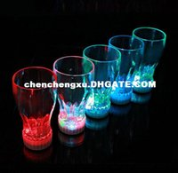 Wholesale Creative Party Supplies Luminous Cup Led Light Cup Beer Flashing Coke Cup bar