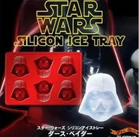 Wholesale Creative American Star Wars Silicone Ice Cube Mold DIY chocolate model of the new ice box cake pan