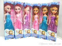 Wholesale Frozen frozen ice surrounding Adventure Queen Princess ElsaAnna dolls small box
