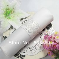 Wholesale and retail Butterfly Theme Pearl Paper Napkin Ring