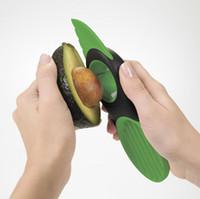 fruit slice - Free DHL in Avocado Slicer Splits Plastic Slices Sharp Durable Blade Fruit Pitter