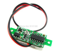 Wholesale quot DC V Super Mini Digital Blue LED Car Voltmeter Voltage Volt Panel Meter