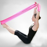 ballet dance exercises - High quality yoga resistance bands for yoga pilates ballet work out workout dance fitness rubber band exercise