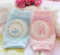 bamboo baby wear - Fashion Children Breathable Mesh Kneepad Baby Boy Girl Wear resistant Knee Pads Kids Safety Accessorie