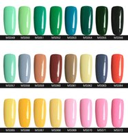 Wholesale 2015 Hottest item Gelish Nail Polish Soak Off Nail Gel For Salon UV Gel Colors ml supply