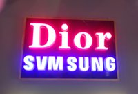 Wholesale Illumianted LED frontlit face D channel letters signs lettering sign logo display