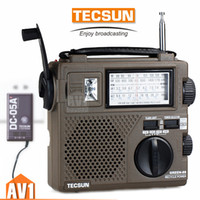 Wholesale Quality TECSUN GR88 Emergency Radio Generator hand cranking charging rechargeable environmental fm am sw camping rescue