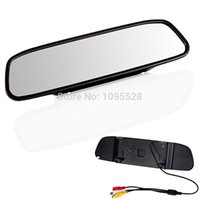 auto tv monitors - Hot Sale Super deal TV Inch TFT Car Monitor Mirror View Rearview Auto LCD Screen for Car Reversing