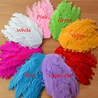 Cheap 50pcs Nagorie Pads Curly Feather Pads Feather Pads For Headbands Goose Feathers Fascinators Hair Piece Hat Embellishments