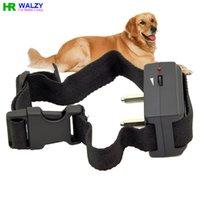 anti bark shock collar - Dog No Bark Collar Anti Bark No Barking Tone Shock pet dog Training Collar Dogs BK017