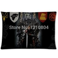 background games - Hot TV Play Game of Thrones Badge Background Comfortable Cushion amp Pillow case