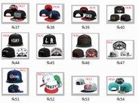 custom snapback - 18pcs New deep snapback hat custom skate hats snapbacks snap back cap mixed color