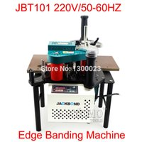 Wholesale JBT101 Portable edge bander machine V HZ with speed control Fit for plate straight and arc irregular borders Edge job