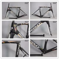 frame moulding - 2016 newest mould full carbon fiber RIDley frame blue carbon road frame carbon race bike frame toray cm pf30 bb30 bb68