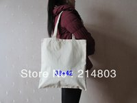plastic tote - blank cotton canvas tote shopping bag promotion