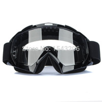 Wholesale Super Motorcycle Bike ATV Motocross Ski Snowboard Off road Goggles FITS OVER RX GLASSES Eye Lens