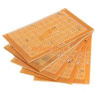 Wholesale 5PCS x15cm Prototype Paper Boards PCB Blank Printed Circuit Board DIY