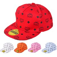 Wholesale Hot Sales MCM Fashion baseball cap Boys and girls Casual Ball Caps Children Cap Neutral cap