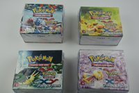 Wholesale Hot Selling new Pokemon XY Cards trading card game piece bag bag box Pokemon Gifts for Children in stock