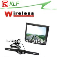 Wholesale 3 quot LCD Monitor with GHz Wireless Rear View Backup License IR Camera Waterproof