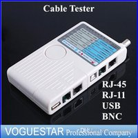 advanced networks - Advanced tester for RJ11 RJ45 USB BNC LAN Network Cable Tester for UTP STP LAN Cables Top Quality Wholesael Retail NWP0021