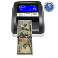 Wholesale Hot Selling EC330 Fake Banknote Currency Detector fake note detector machine infrared currency detector for USA Dollars