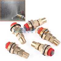 Wholesale 5pcs quot Adjustable Brass Atomizing Lawn Sprinkler Garden Misting Spray Nozzle order lt no track