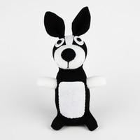Cats/Mice/Dogs baby socks dog - Handmade stuffed sock monkey animals dog doll baby toys