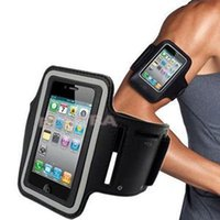 Wholesale Hot Selling Arm Band Case Cover Holder Sports Running Jogging Gym Armband for iPhone S C