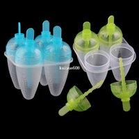 Ice Cream Tubs plastic tubs - Portable Corn Shape Ice Cream Maker Ice Pop Popsicle Mold Frozen Food DIY Set Tool