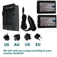 Precio de Handycam sony-Envío Gratis 2 PCS de la batería para Sony NP-FV50 NP-FV70 NP-FP71 NP-FP90 Handycam DCR-SR47 DCR-DVD108