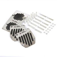 Wholesale Transformers Car Pedal brake pedal gas pedal pedals pads Non slip MT AT Decorate your tire Mix Brand sets