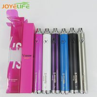 Wholesale vision spinner most popular e cigarette evod twist battery evod twist fast delivery ego twist battery mah best sell