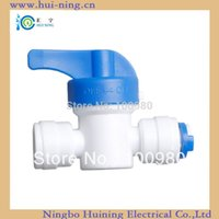 Wholesale quick connector hand valve inch and inch water filter
