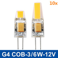 ac dc light bulbs - Mini G4 LED COB Lamp Bulb W W DC AC V LED Lighting Dimmable Beam Angle Chandelier Lights Replace Halogen G4 Lamps