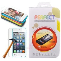 Wholesale For iPod Touch Tempered Glass Screen Film Protector Skin ipad touch th th