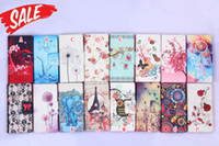 ace fashion - Fashion Flower Butterfly Eiffel Tower Wallet Leather For Galaxy O5 G550 J5 J3 J2 J1 ACE J110 Trend Lite G318 Purse Be Free Pouch Soft Case
