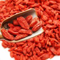 chinese dried fruit - 2015 g Ningxia Pure Goji Berries Certified Organic Chinese Medlar Healthy Berry Best Food Dried Fruit In Herbal Tea