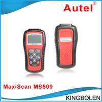 Car Diagnostic Cables and Connectors maxiscan ms509 - Autel MaxiScan MS509 Automotive Diagnostic Equipment Scanner Detector OBD SCAN TOOL MS Car Fault Detector