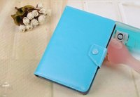 Wholesale 8 Colors Folding Folio PU Leather Case Cover Stand For quot Inch inch inch inch Tablet PC MID