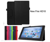amazon kindle fire hd - PU Leather Case for new Amazon Kindle Fire HD HD8 hd10 HD smat case with stand