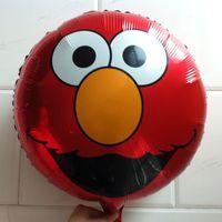 Wholesale cm Sesame Street ELMO foil baloons cartoon helium balloon new styles
