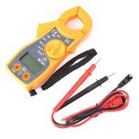 auto ammeter - A A True RMS Digital Clamp Multimeters Auto Range Capacitance Temperature AC DC Current Clamp Meter Unit Ammeter Voltmeter