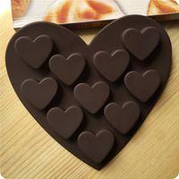 baking terms - Long term supply even love silicone cake mold chocolate cake mold Soap mold baking DIY