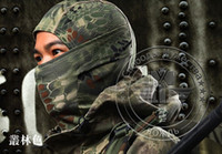 Wholesale Boa Style Tactical Military Hunting Outdoor Quick drying Hood Face Mask Protection Balaclava Hats Wind proof Wargame Full Face Mask