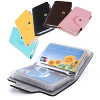Wholesale Hot Selling New Arrivals Cards Pu Leather Credit ID Business Card Holder Pocket Wallet Case Bx42 DHL Or EMS Shipping