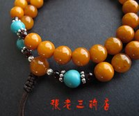 baltic amber ring - Special Baltic old beeswax natural turquoise beads of blood amber